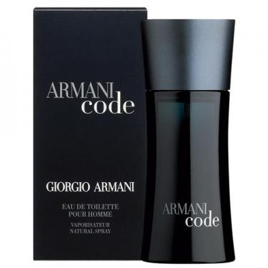 Equivalente Giorgio Armani Black Code 80ml Roxane